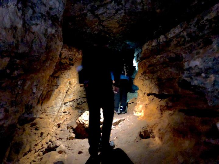 Salida de la Cova Gran