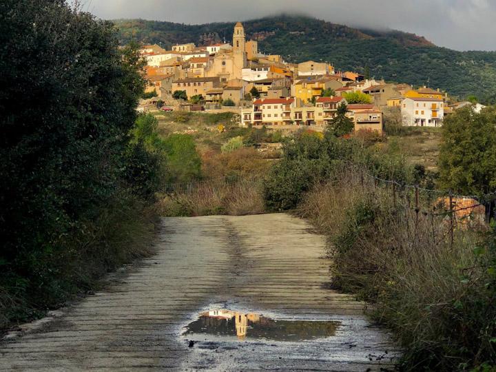 Vista del pueblo de Capafonts
