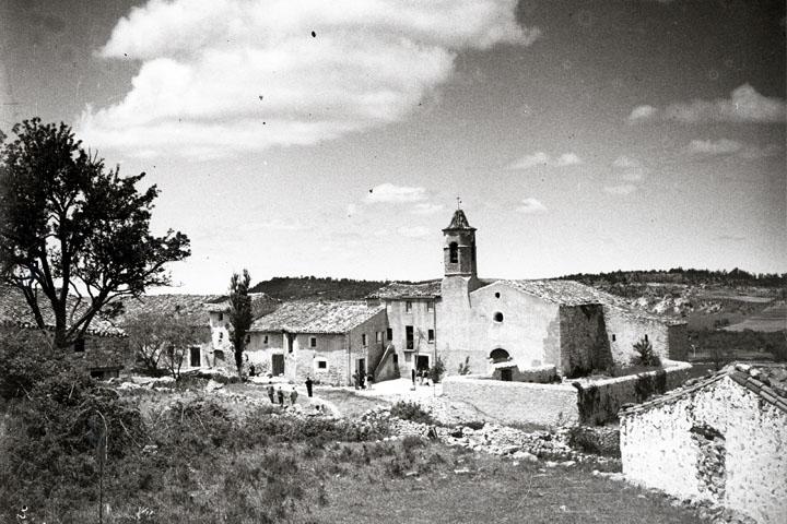 Vista del pueblo de La Mussara