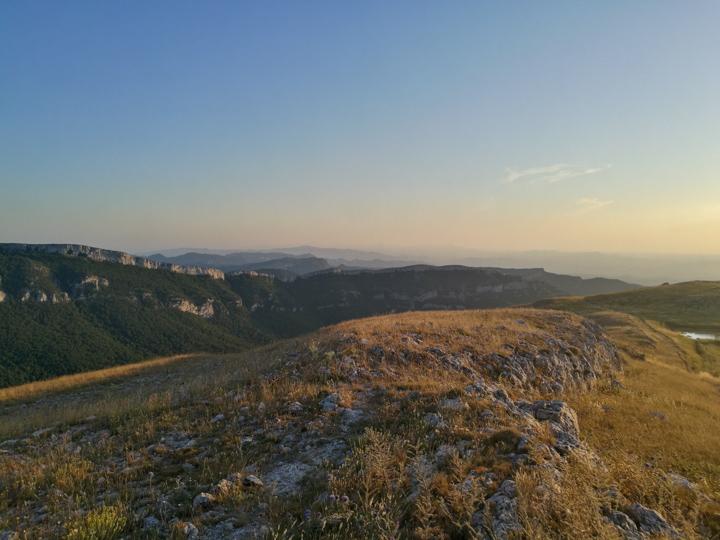 La Sierra de Llaberia desde La Mola de Colldejou