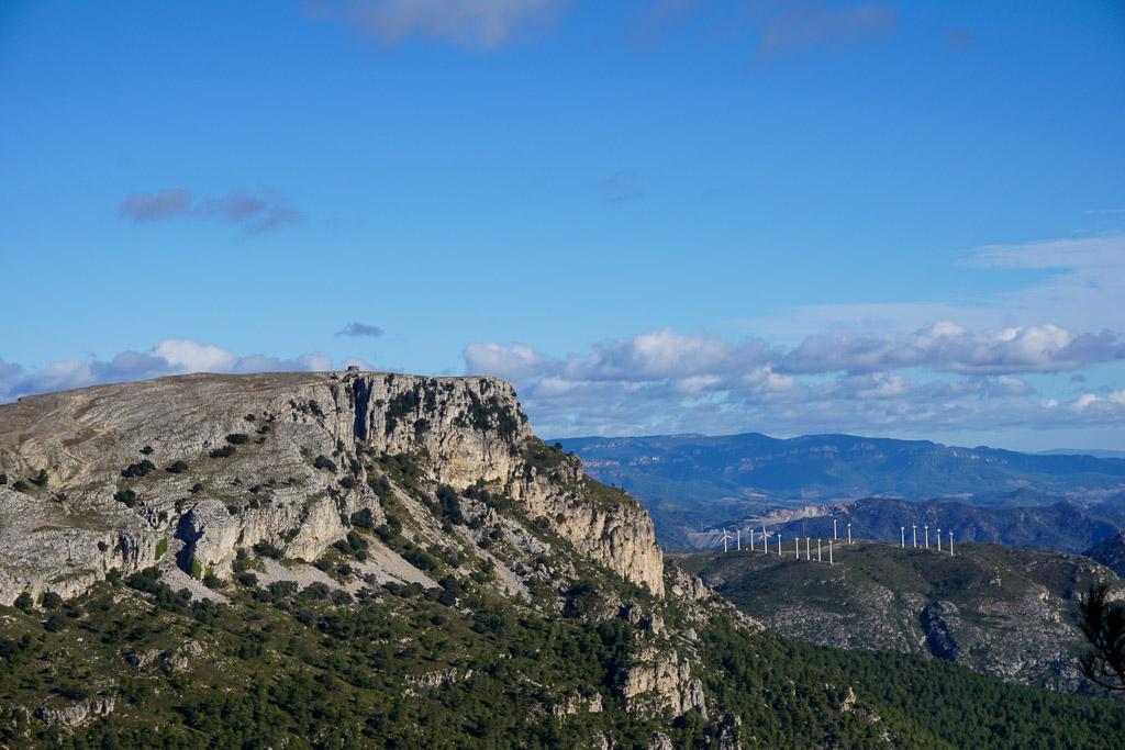 La Mola de Colldejou. Es una de las mejores rutas de senderismo en Tarragona.