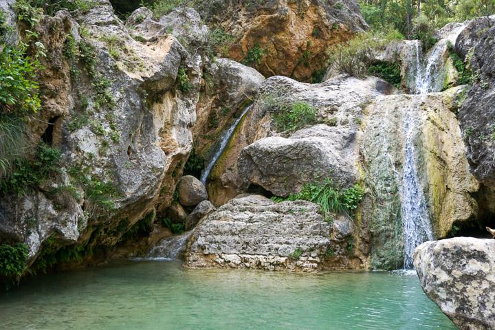 Salto de agua de Els Gorgs de La Febró