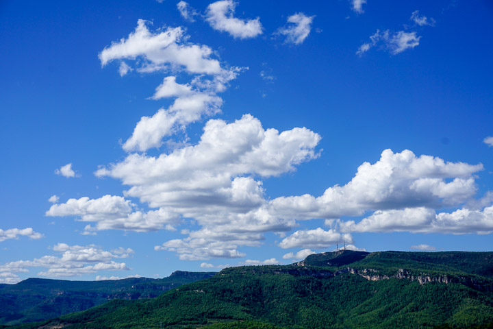 Vistas de La Mussara desde el Puig d'en Cama