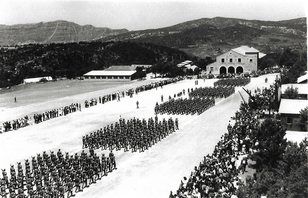 Jura de Bandera del Campamento Militar de Los Castillejos