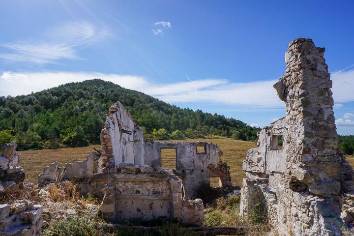 El Puig de Gallicant visto desde el pueblo