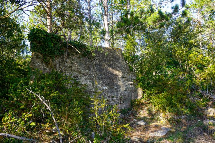 Muro poblado prehistórico de La Mussara