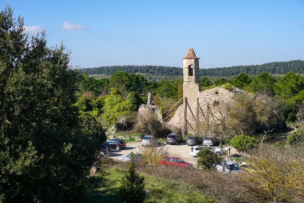 Vista general de La Mussara