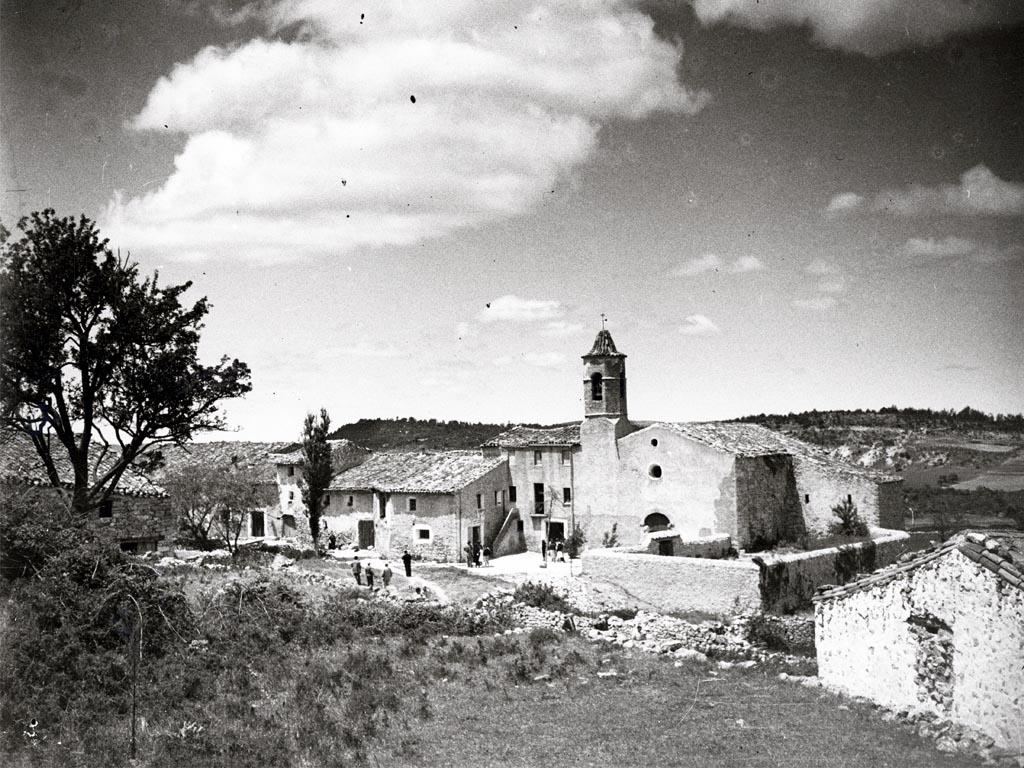 Foto antigua de La Mussara