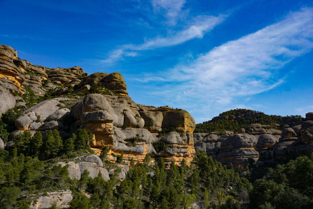 Rocas del Congosto de Fregarau