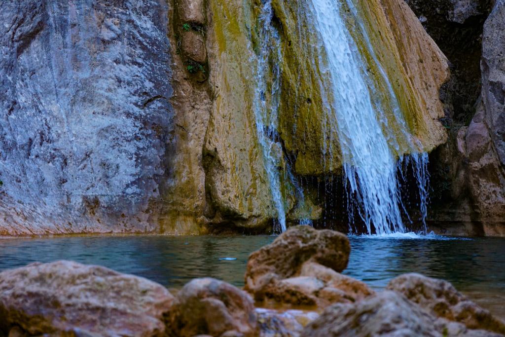 El salto de agua de La Gorguina