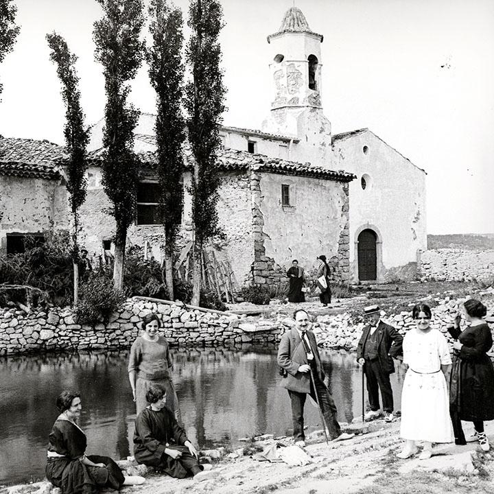 Fotografía de la balsa de La Mussara