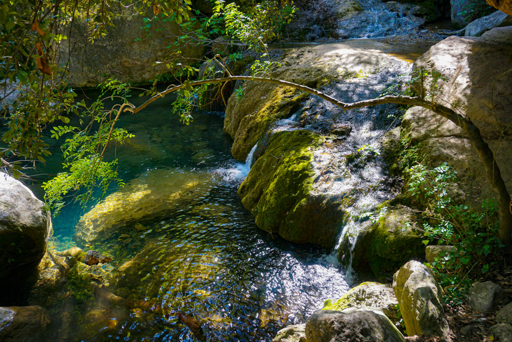 Salto de agua, Niu de L'Àliga