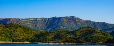 Pantano de Siurana y el Montsant